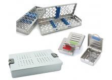 Nichrominox kassetter og steril-containere